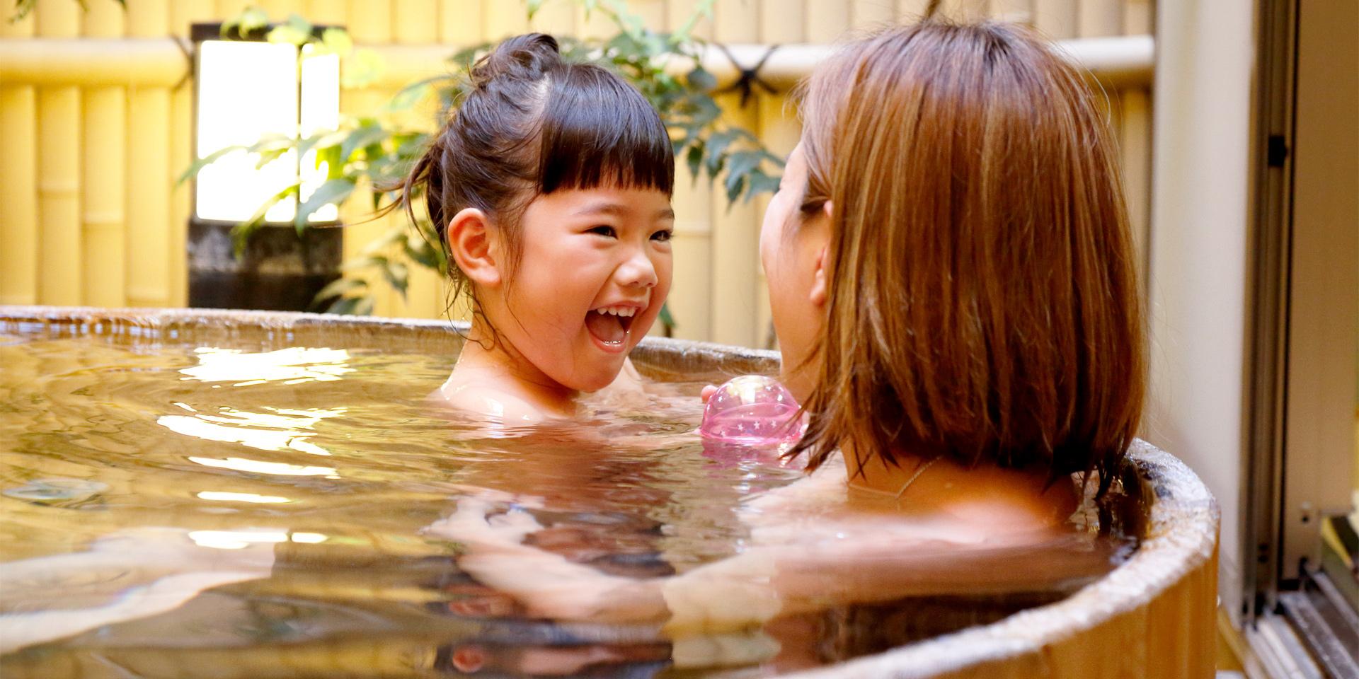 家族風呂:菜の花湯