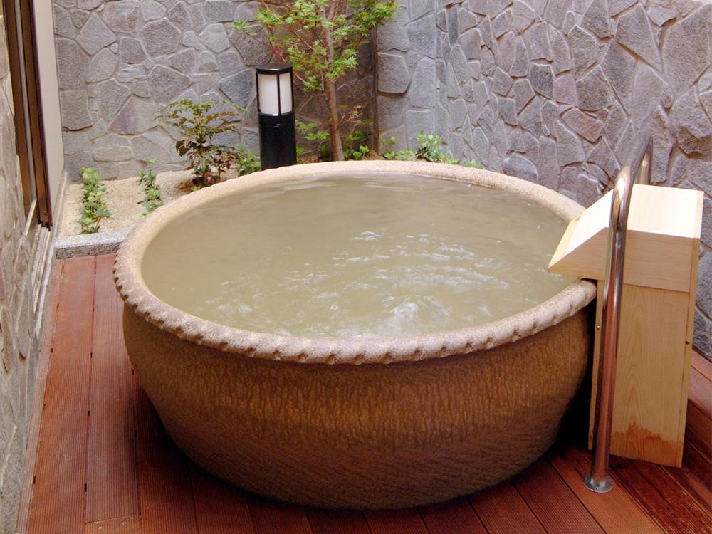 画像:家族風呂(紫陽花湯)